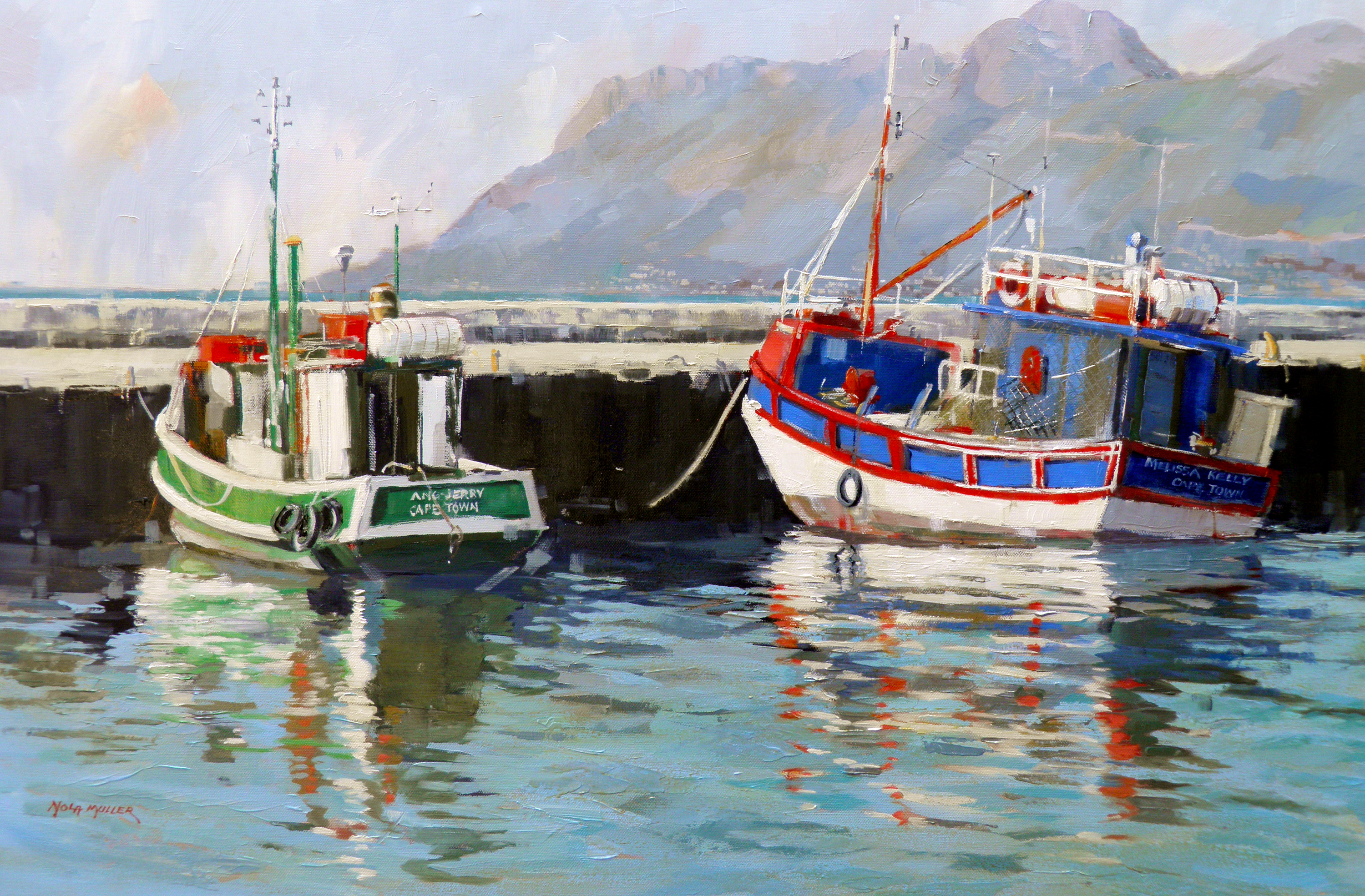 Kalk Bay boats 610x910
