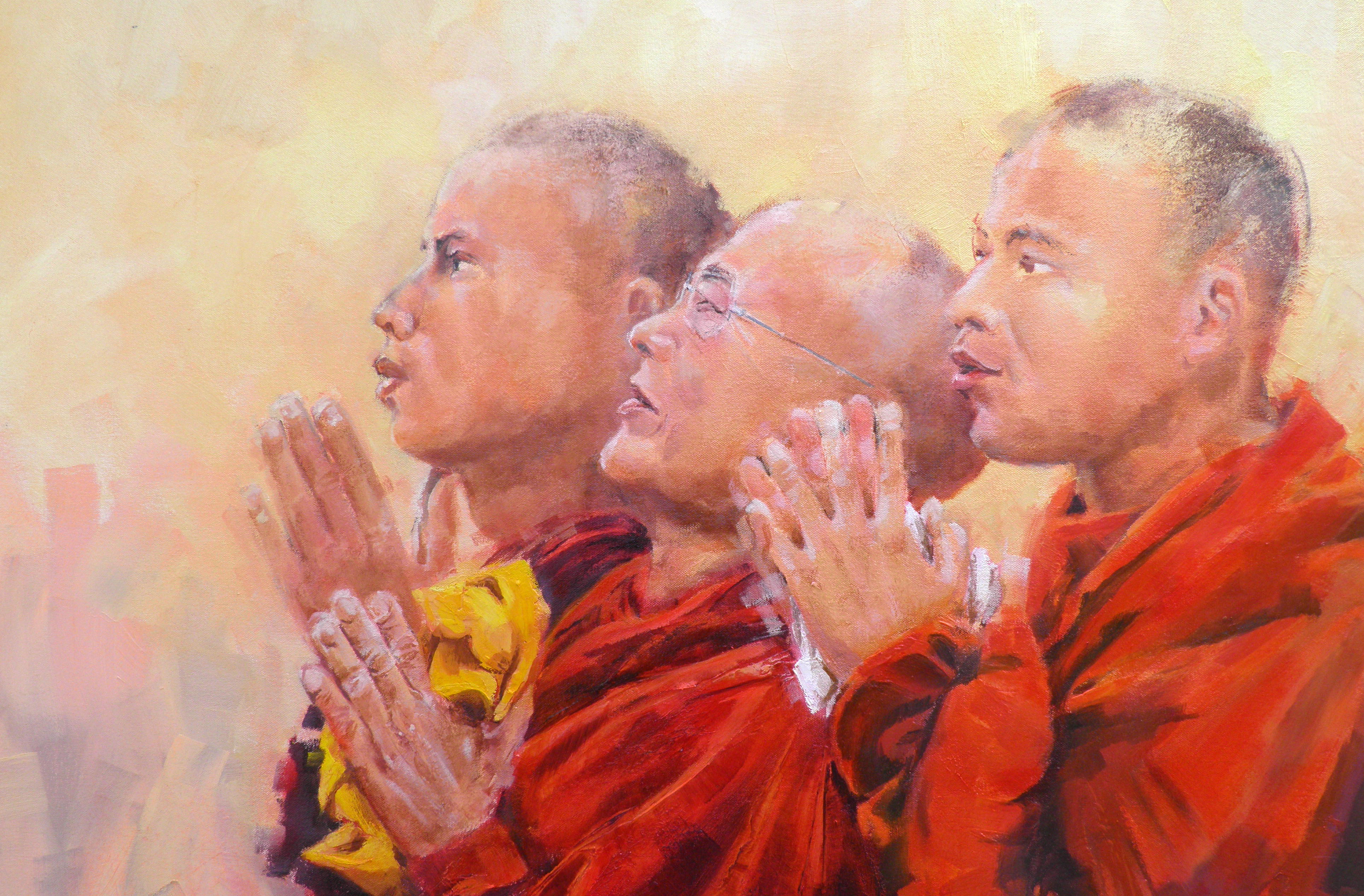 buddhist monks 600x750