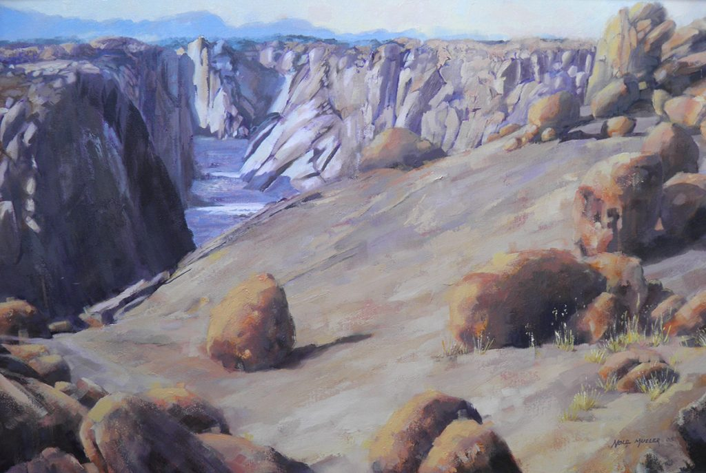 Oil. Augrabies Canyon 600x900