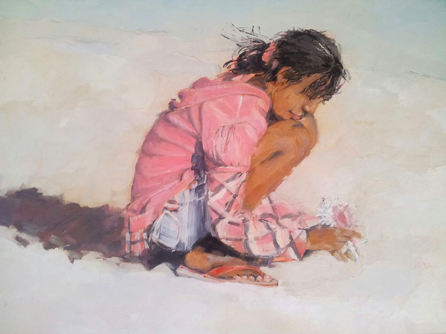 Oil. Shell collecting 450x600