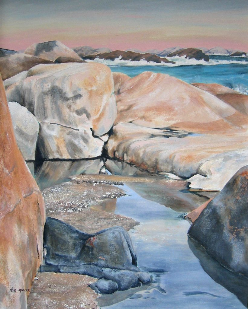 Oil. Tittiesbaai 800x1000