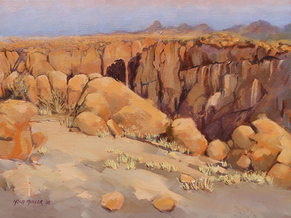 Oil. Canyon Country 300x400